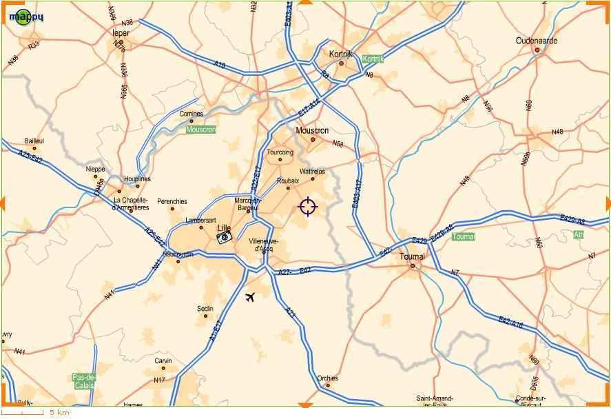 plan métropole lilloise